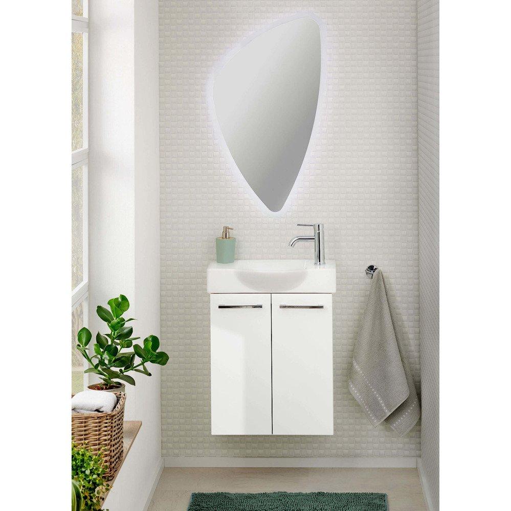 Lustro łazienkowe Organic Z Oświetleniem Led Fackelmann 84583