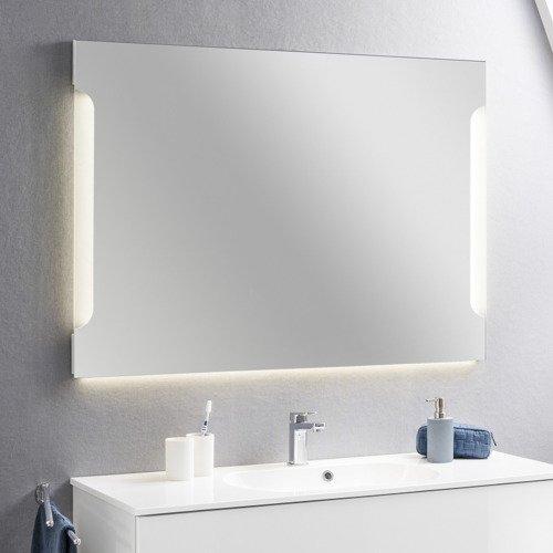 Lustro łazienkowe 1195 Cm Z Oświetleniem Led Kolekcja Alpha
